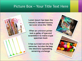 Rainbow Drawing PowerPoint Template - Slide 24