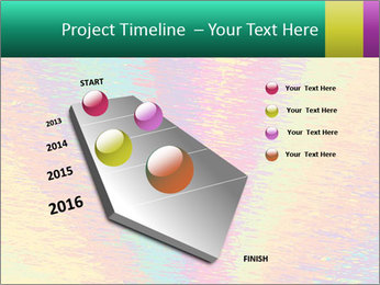 Rainbow Drawing PowerPoint Template - Slide 26