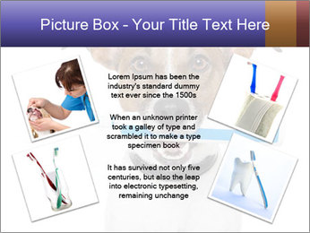 Dog With Tooth Brush PowerPoint Template - Slide 24