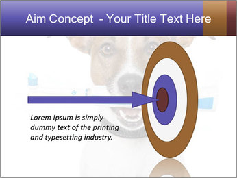 Dog With Tooth Brush PowerPoint Template - Slide 83