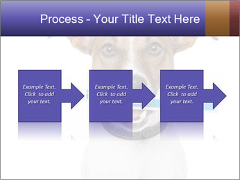 Dog With Tooth Brush PowerPoint Template - Slide 88