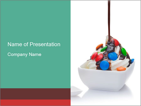 Colorful Icecream PowerPoint Template