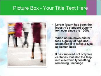 Busy Crosswalk PowerPoint Template - Slide 13