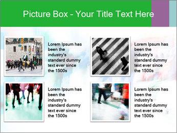 Busy Crosswalk PowerPoint Template - Slide 14