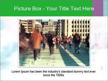 Busy Crosswalk PowerPoint Template - Slide 15