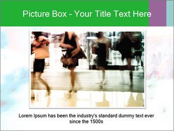 Busy Crosswalk PowerPoint Template - Slide 16