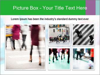 Busy Crosswalk PowerPoint Template - Slide 19