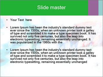 Busy Crosswalk PowerPoint Template - Slide 2