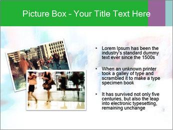 Busy Crosswalk PowerPoint Template - Slide 20