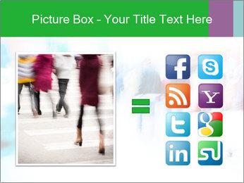 Busy Crosswalk PowerPoint Template - Slide 21