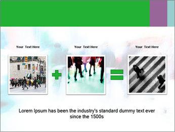 Busy Crosswalk PowerPoint Template - Slide 22