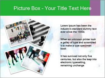 Busy Crosswalk PowerPoint Template - Slide 23
