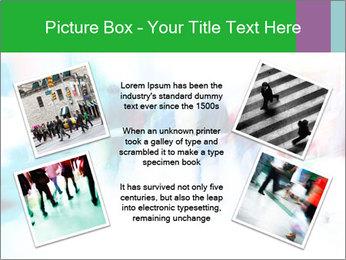 Busy Crosswalk PowerPoint Template - Slide 24