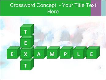 Busy Crosswalk PowerPoint Template - Slide 82