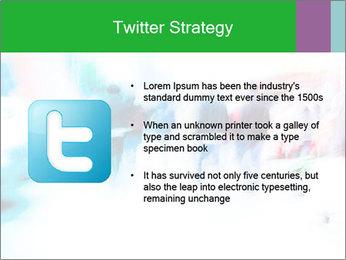 Busy Crosswalk PowerPoint Template - Slide 9