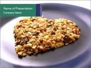 Granola Heart PowerPoint Template