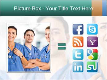 Healthcare Team PowerPoint Template - Slide 21