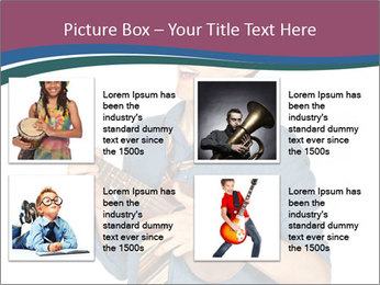 Emotional Guitar Player PowerPoint Template - Slide 14