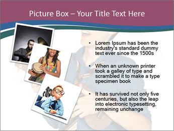 Emotional Guitar Player PowerPoint Template - Slide 17