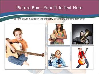 Emotional Guitar Player PowerPoint Template - Slide 19
