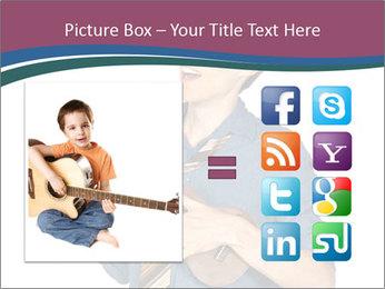 Emotional Guitar Player PowerPoint Template - Slide 21