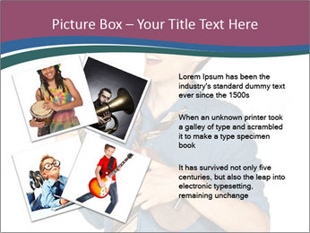 Emotional Guitar Player PowerPoint Template - Slide 23