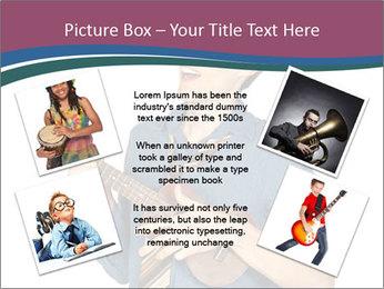 Emotional Guitar Player PowerPoint Template - Slide 24