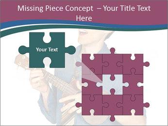 Emotional Guitar Player PowerPoint Template - Slide 45