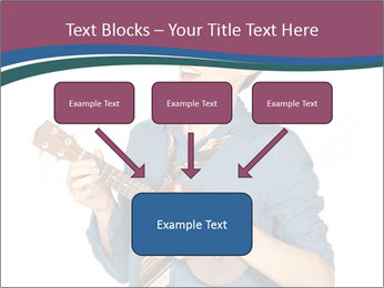 Emotional Guitar Player PowerPoint Template - Slide 70