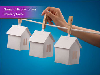 House Lease PowerPoint Template - Slide 1