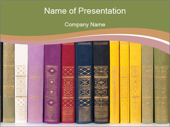 Book Collection PowerPoint Template