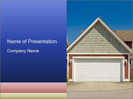 House Garage PowerPoint Template