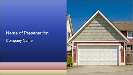 House Garage PowerPoint Template
