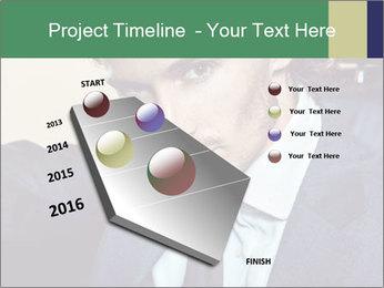 Male Model PowerPoint Template - Slide 26