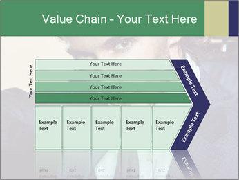 Male Model PowerPoint Template - Slide 27