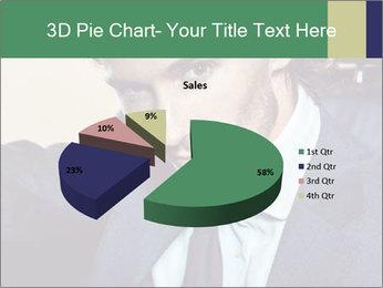 Male Model PowerPoint Template - Slide 35