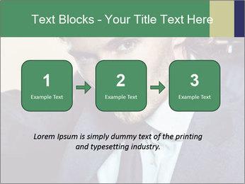 Male Model PowerPoint Template - Slide 71