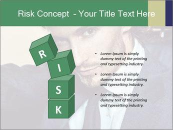 Male Model PowerPoint Template - Slide 81