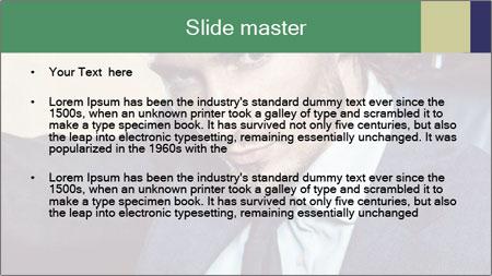 Male Model PowerPoint Template - Slide 2