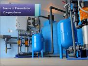 Huge Water Pipes PowerPoint Template