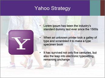 Teenagers Walking On Street PowerPoint Template - Slide 11