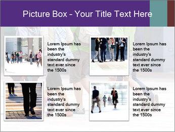 Teenagers Walking On Street PowerPoint Template - Slide 14