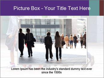 Teenagers Walking On Street PowerPoint Template - Slide 15