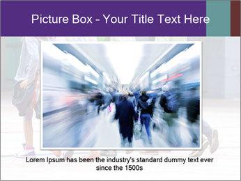 Teenagers Walking On Street PowerPoint Template - Slide 16