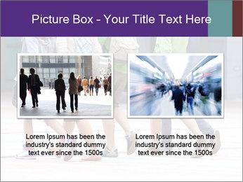 Teenagers Walking On Street PowerPoint Template - Slide 18