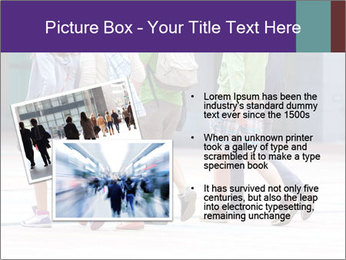 Teenagers Walking On Street PowerPoint Template - Slide 20