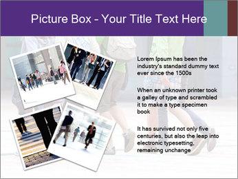 Teenagers Walking On Street PowerPoint Template - Slide 23