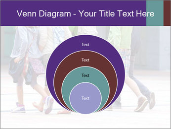 Teenagers Walking On Street PowerPoint Template - Slide 34