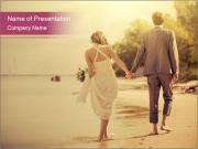 Creative Wedding Photo PowerPoint Template