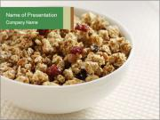 Granola For Breakfast PowerPoint Template